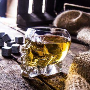 Szklanka do whisky Czaszka