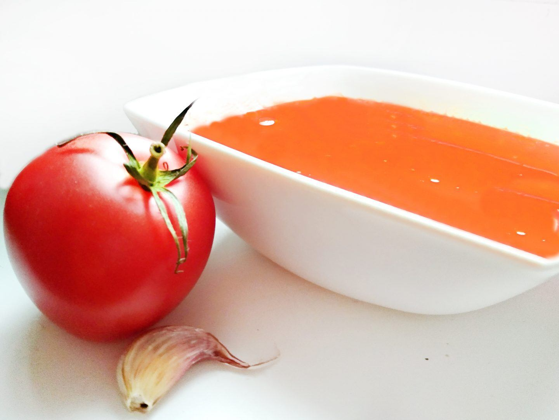Zupa krem z pomidorów z puszki – fit przepis