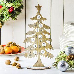 Choinka świąteczna drewniana Christmas
