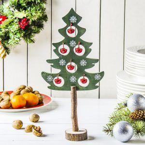 Choinka świąteczna drewniana Xmas Bell