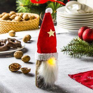 Figurka świąteczna LED GNOM