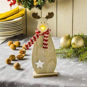 Figurka świąteczna Led Renifer