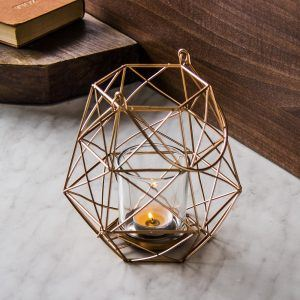Lampion ozdobny metalowy Modern