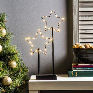 Ozdoba bożonarodzeniowa LED na stojaku