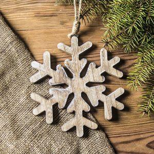 Ozdoba bożonarodzeniowa wisząca płatek śniegu