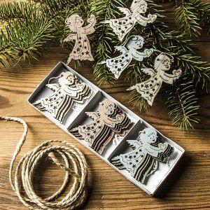 Ozdoby bożonarodzeniowe na choinkęAniołki