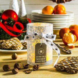 Świecznik świąteczny tealight