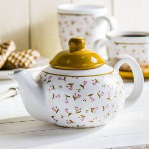 Dzbanek do herbaty i kawy ceramiczny Meadow