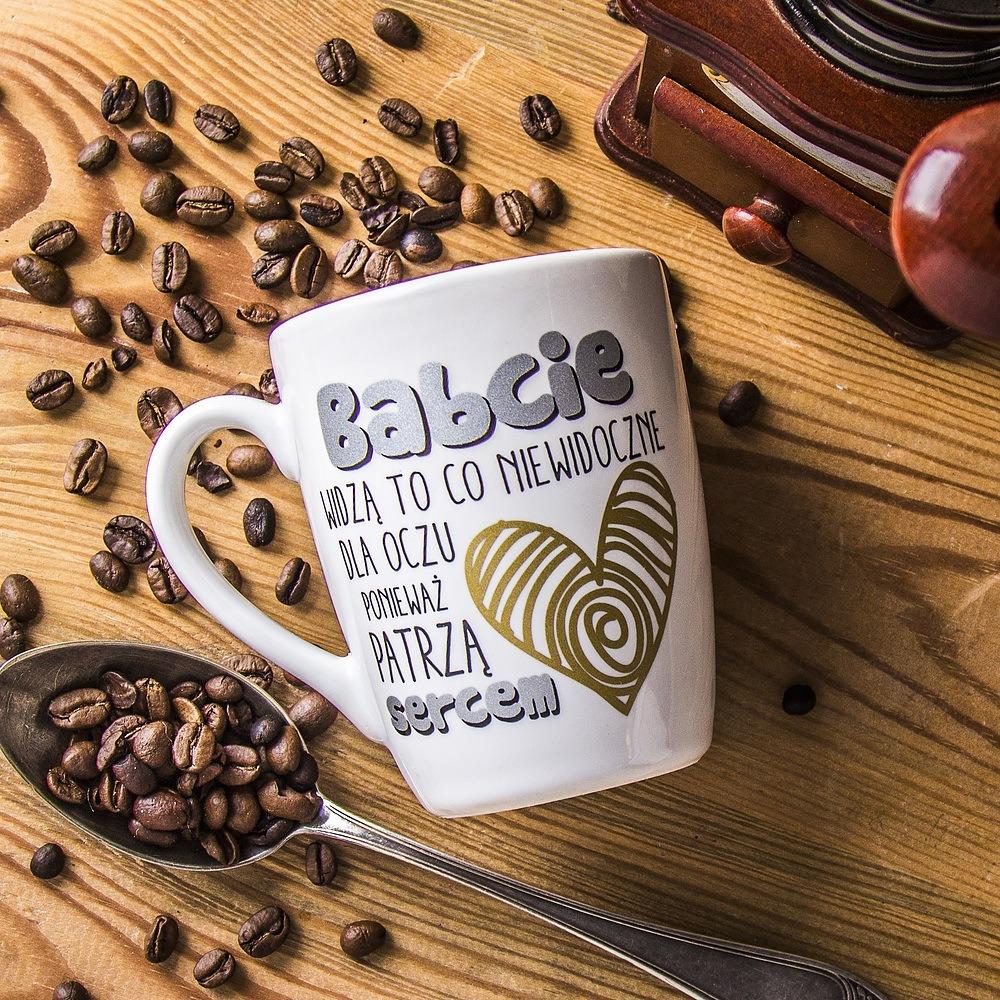 Kubek ceramiczny dla babci