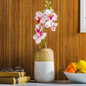 Wazon na kwiaty porcelanowy Wood Moderno