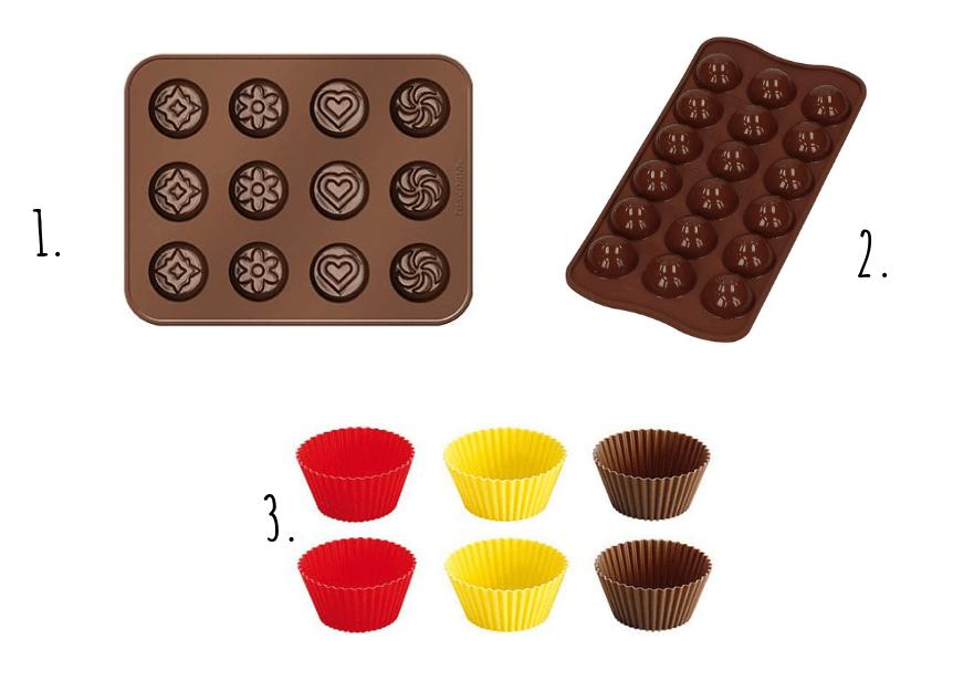 Akceoria do czekoladek
