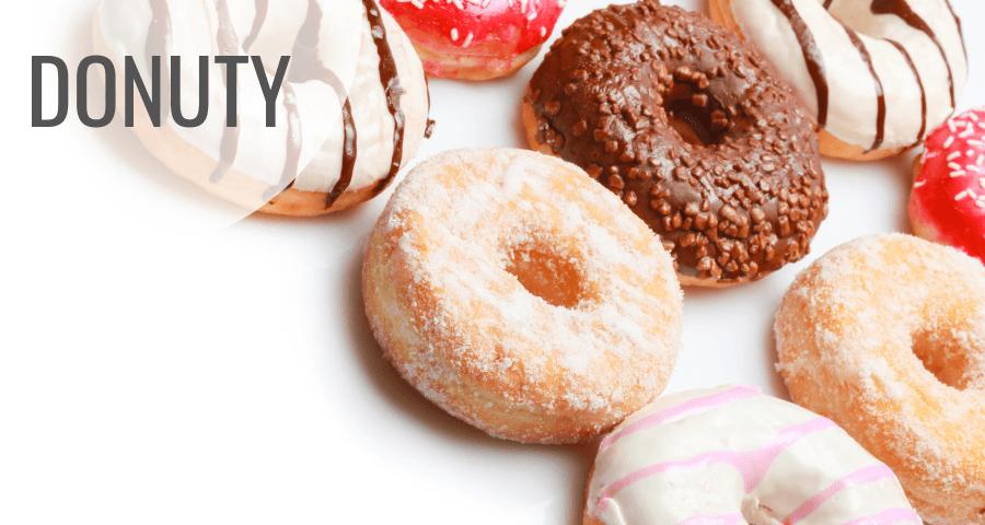 Donuty natłusty czwartek