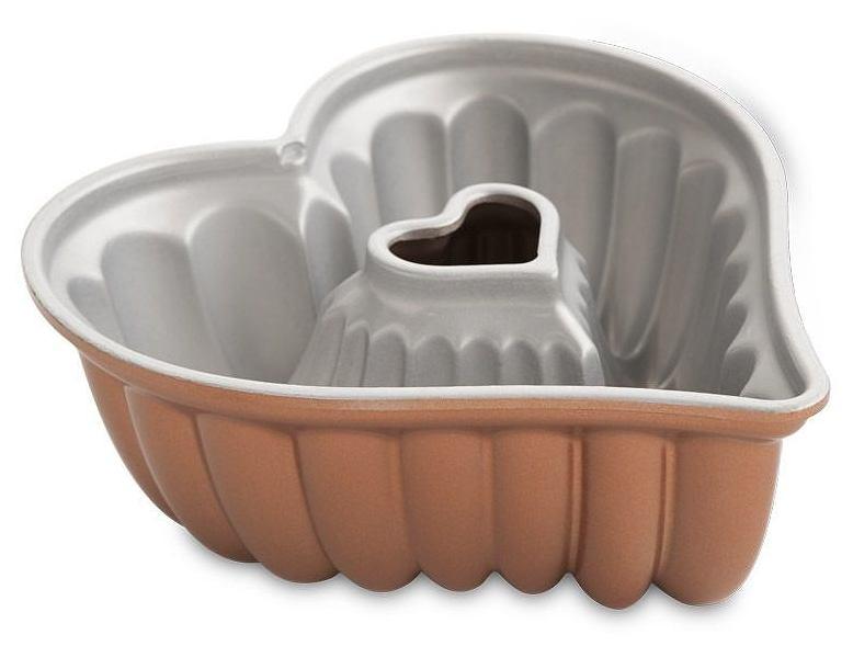 Forma do babki w kształcie serca Nordic Ware