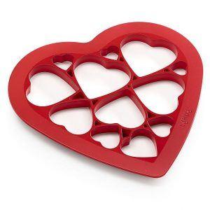Forma do wykrawania ciastek w kształcie serca Lekue