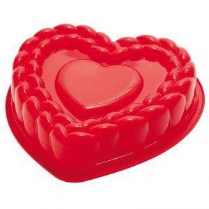 Forma silikonowa w kształcie serca Pavoni