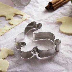 Wykrawacz do ciastek metalowy Zajączek