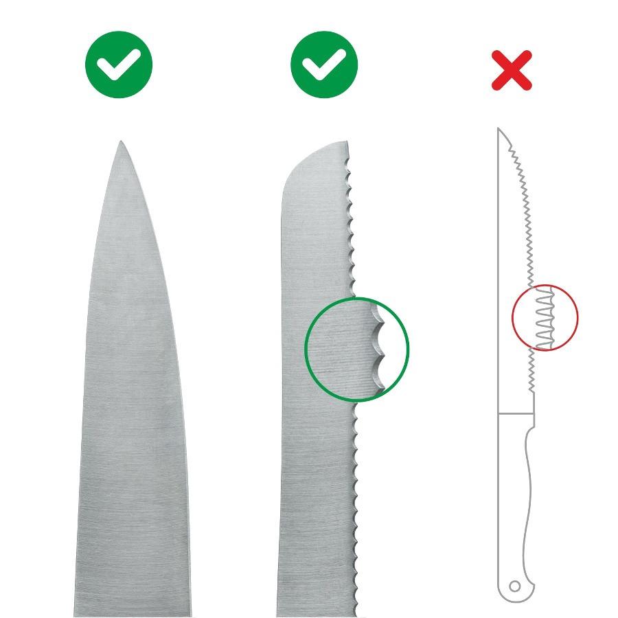 AnySharp Classic, i PRO - jakie noże