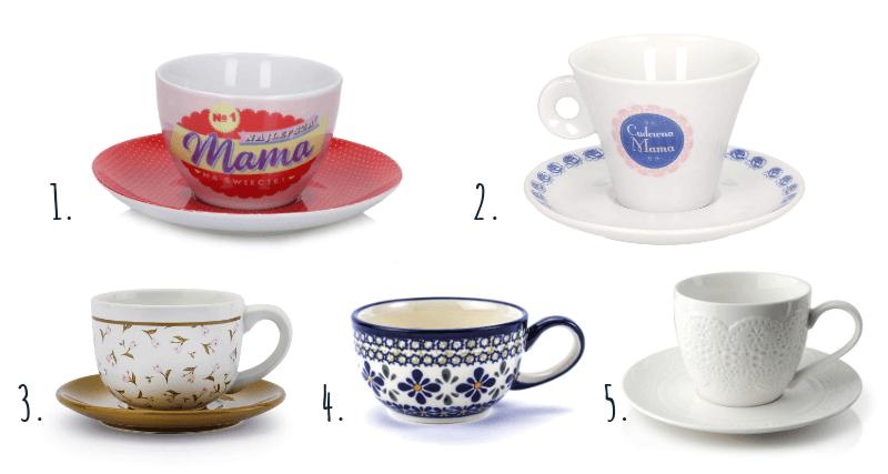 Filiżanki do kawy i herbaty na prezent dla mamy