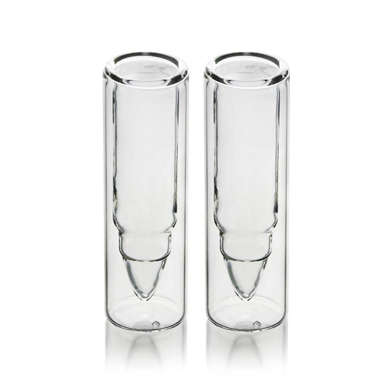 Kieliszki do wódki szklane pociski