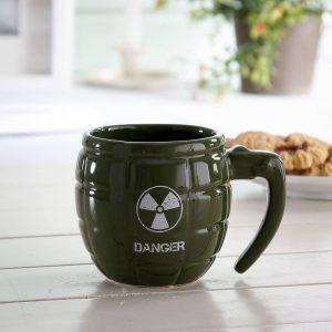 Kubek porcelanowy granat