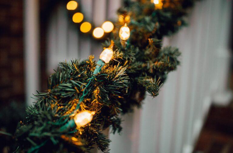 Ozdoby świąteczne na zewnątrz