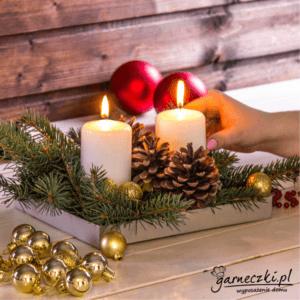 stroiki bożonarodzeniowe z szyszkami