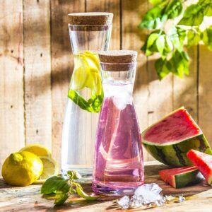 Karafki do lemoniady i soków