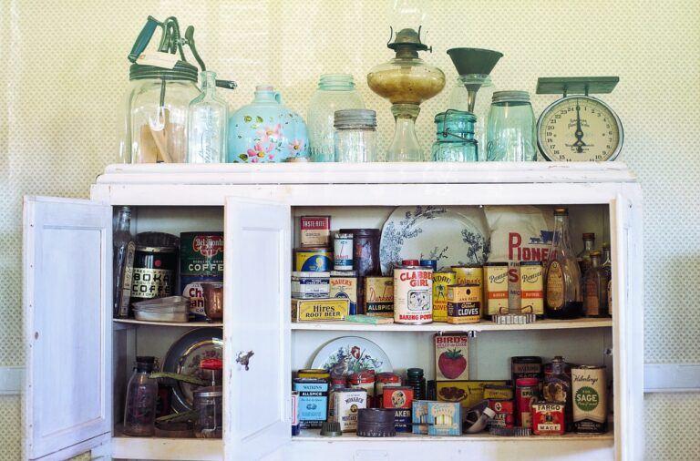 Kuchnia w stylu retro dodatki