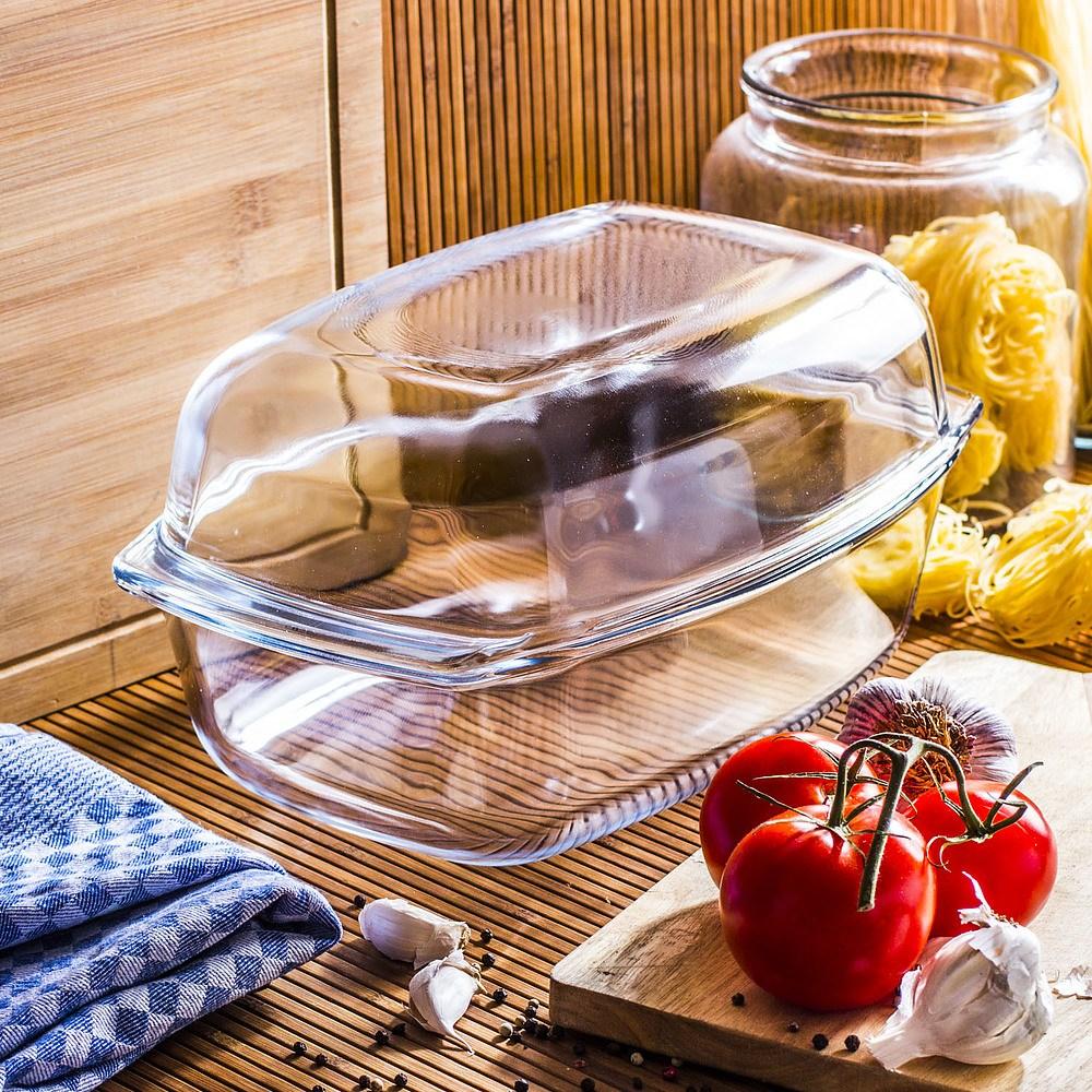 Szklane naczynie do pieczenia chleba