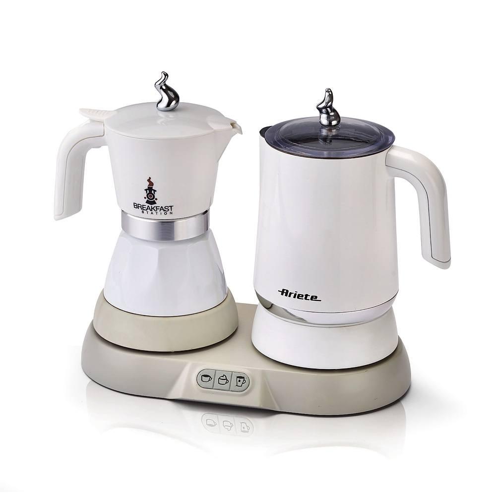 Kawiarka elektryczna ze spieniaczem Ariete Breakfast