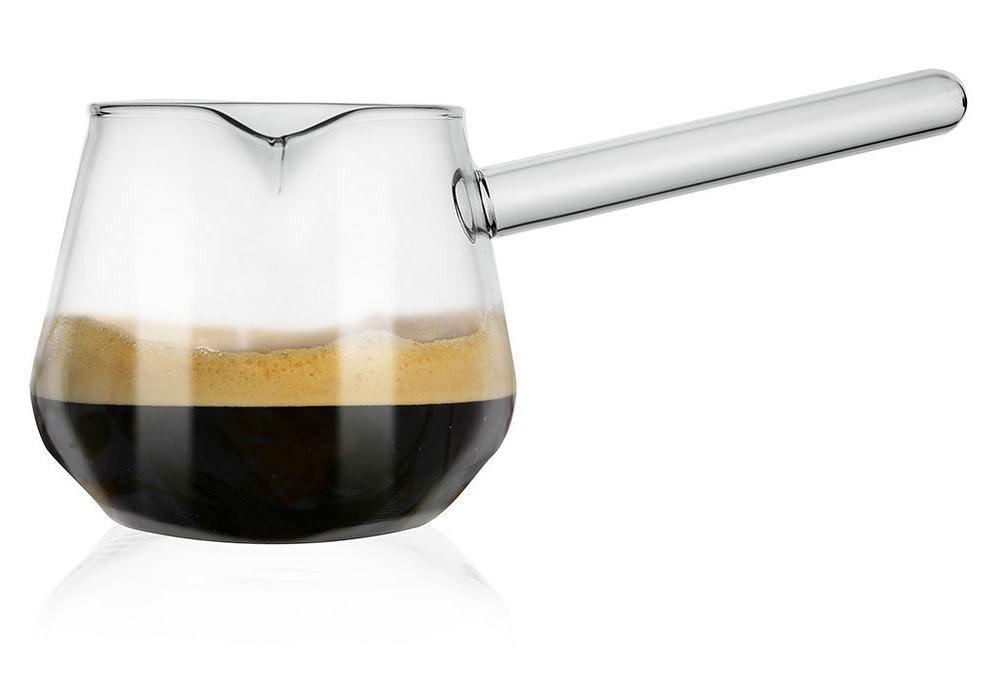 Tygielek do parzenia kawy szklany