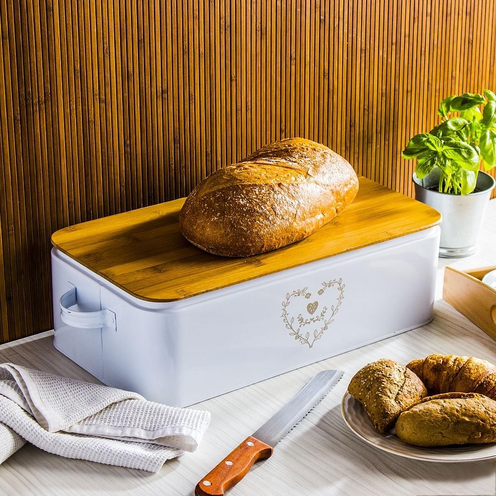 Chlebak z deską do krojenia Renodo