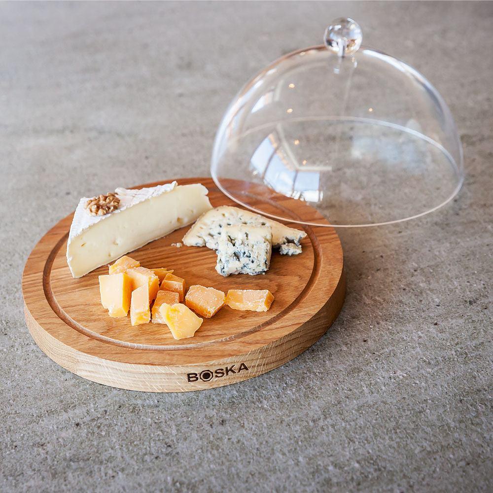 Deska do serów z kloszem BOSKA