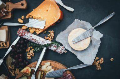 Rodzaje noży do serów