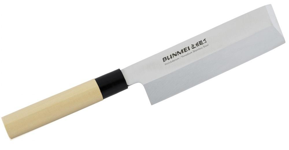 Nóż Usuba marki Bunmei