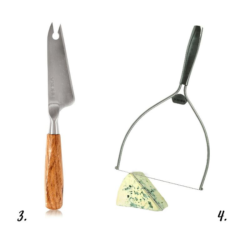 Noże i krajalnice do serów BOSKA