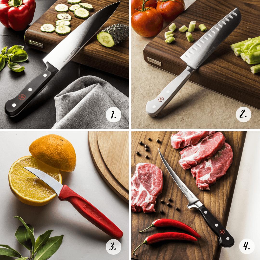 Noże kuchenne Wusthof