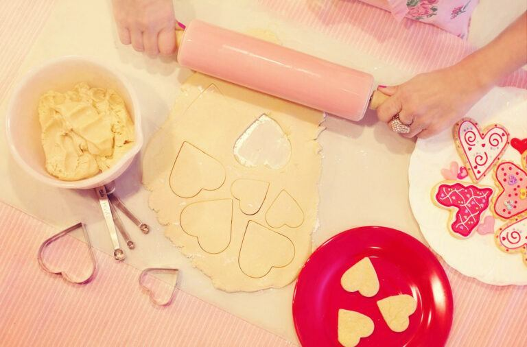 Walentynkowe wypieki - akcesoria do pieczenia