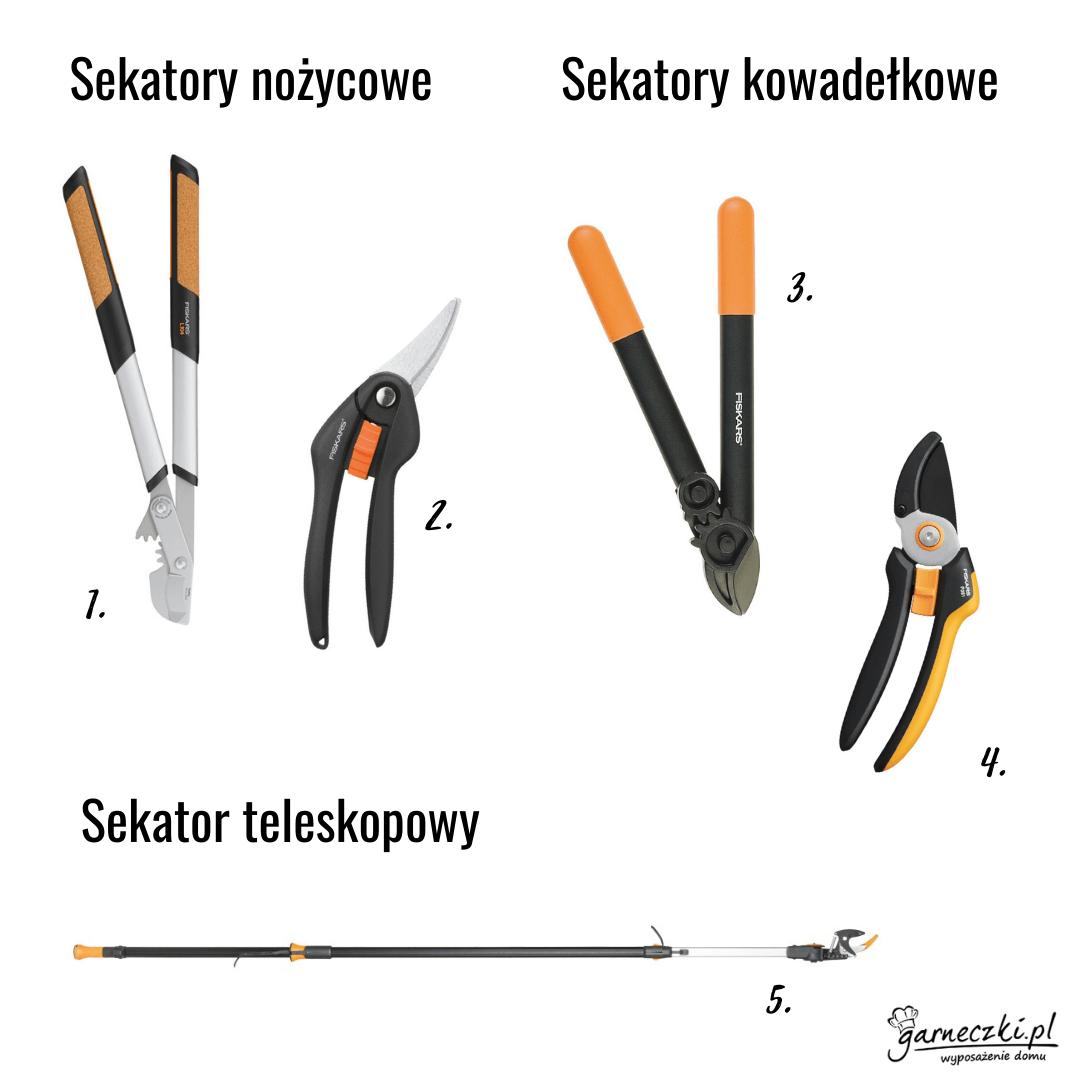 Sekatory Fiskars