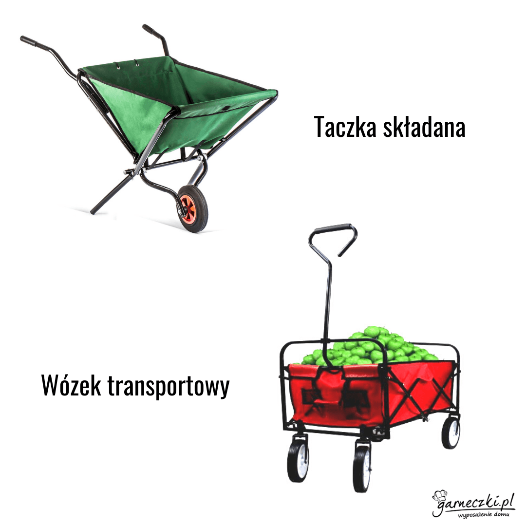 Taczki i wózki ogrodowe
