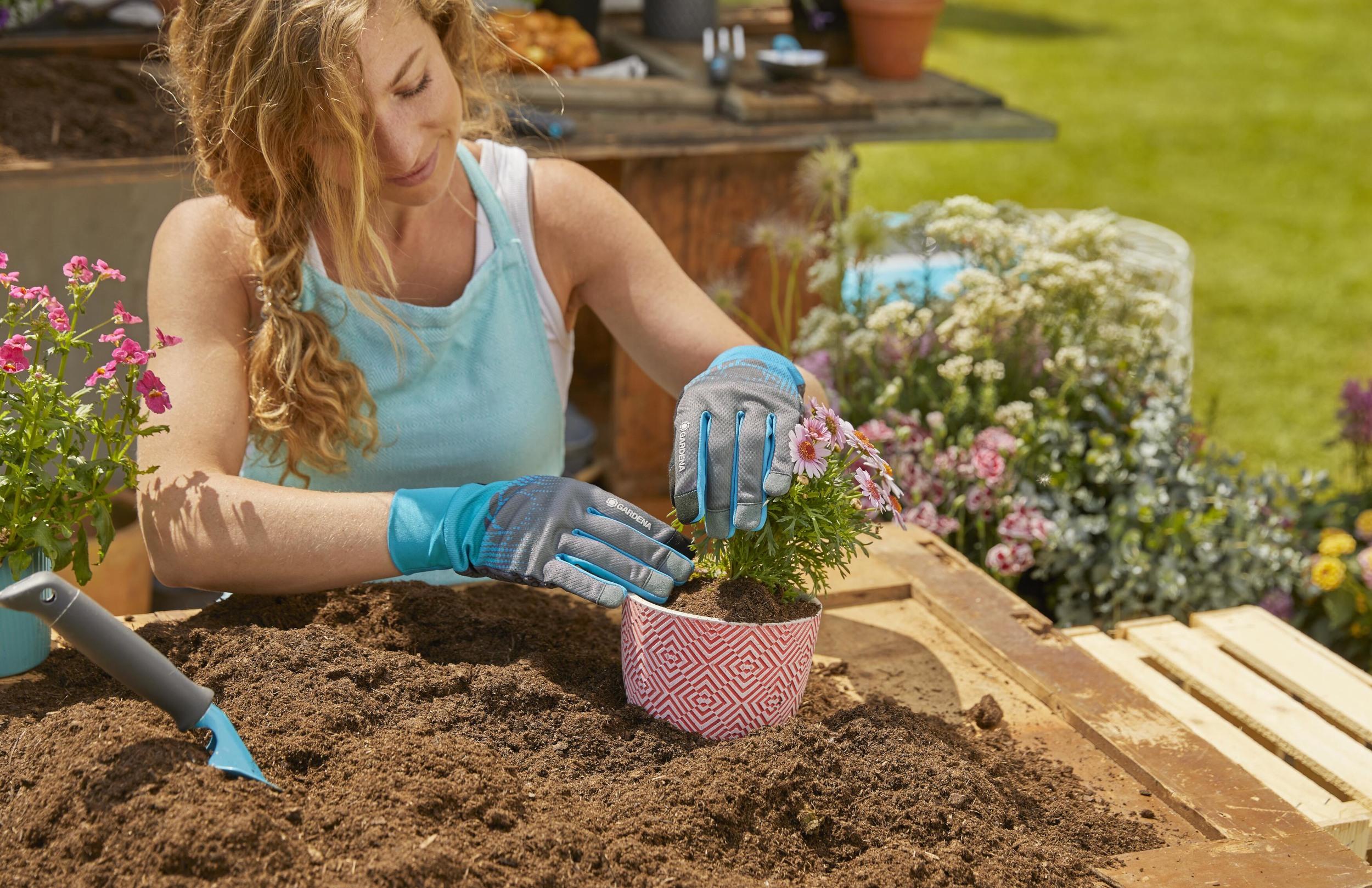 Rękawiczki ogrodowe Gardena