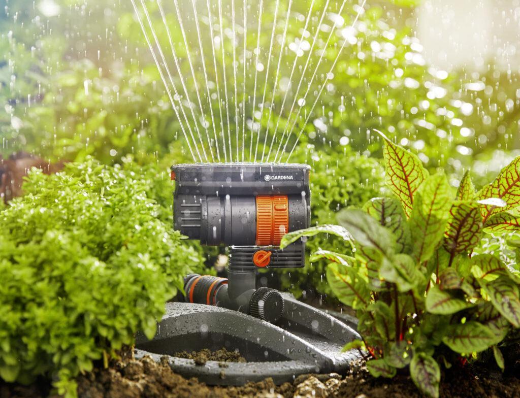 Zraszacz ogrodowy Gardena