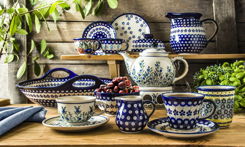 Ceramika Bolesławiec - ręcznie robiona zastawa obiadowa i dodatki. Dlaczego warto je mieć?