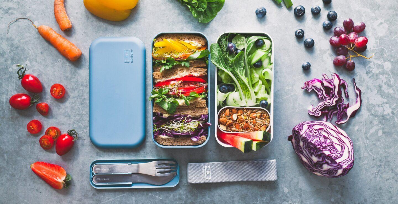 Lunchbox z przegródkami - dla dzieci i dla dorosłych