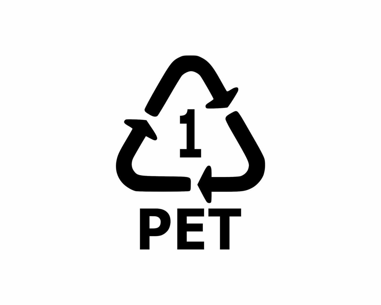 Piktogramy na opakowaniach – co to jest PET?