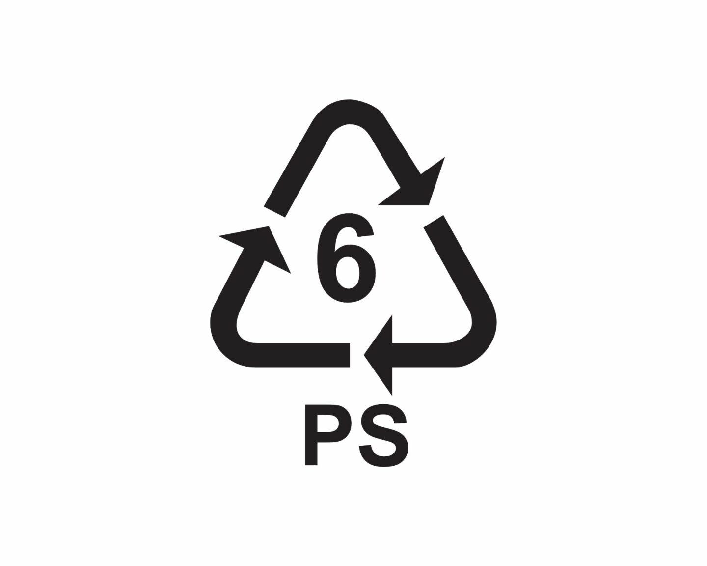 Symbole na opakowaniach - co to jest tworzywo PS?