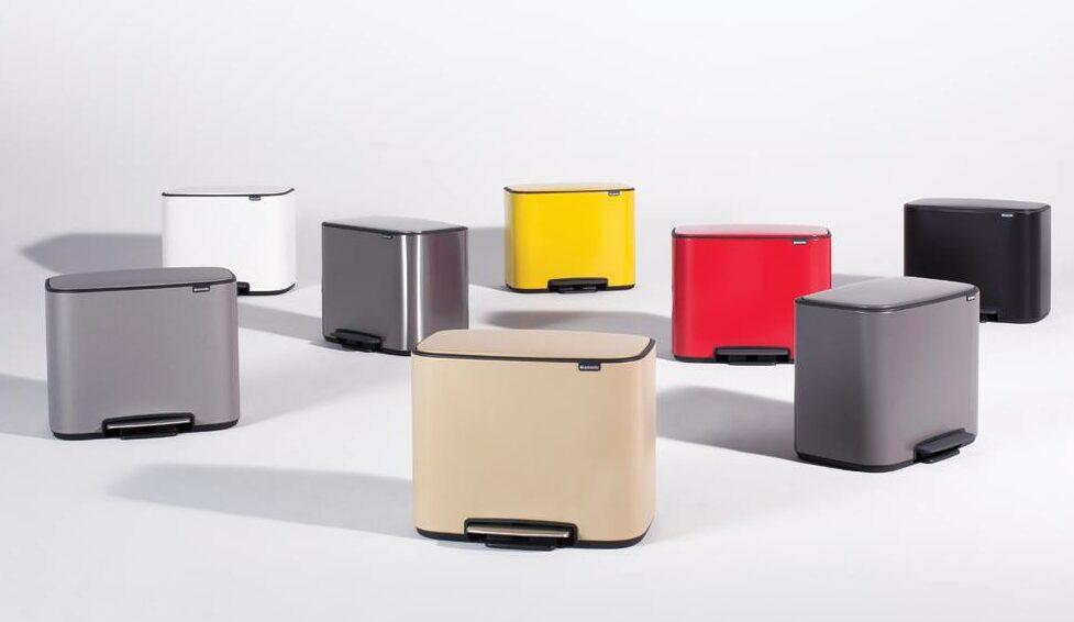 Wybierz kosz na śmieci do swoich potrzeb - oferta marki Brabantia