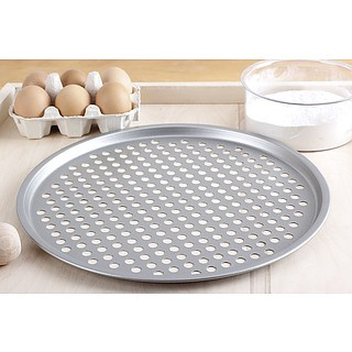 Blacha do pizzy perforowana PATISSE SILVER-TOP 32,5 cm