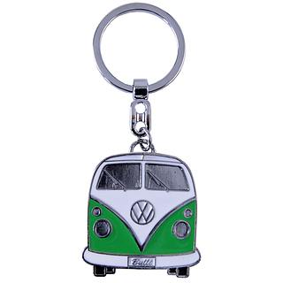Brelok do kluczy metalowy BRISA VW COLLECTION GIFT ZIELONY