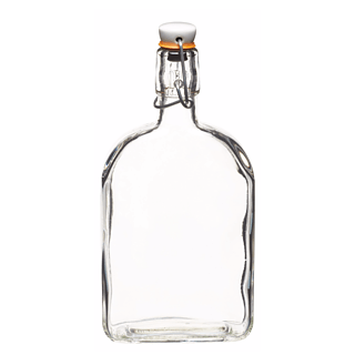 Butelka szklana z korkiem KITCHEN CRAFT GIN 0,5 l